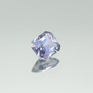 Purple blue sapphire