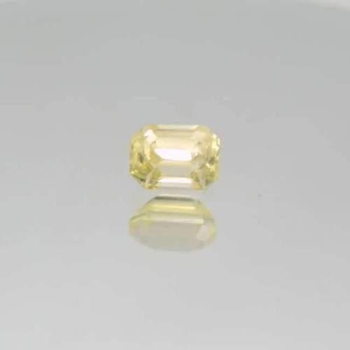 light yellow sapphire