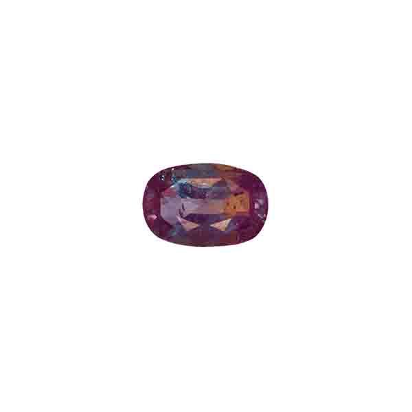 2 carats oval alexandrite