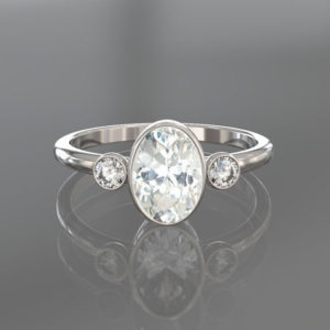 promise ring, gold promise ring