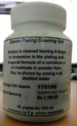 electroplating salt