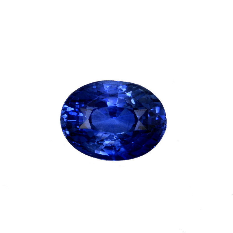 oval blue sapphire