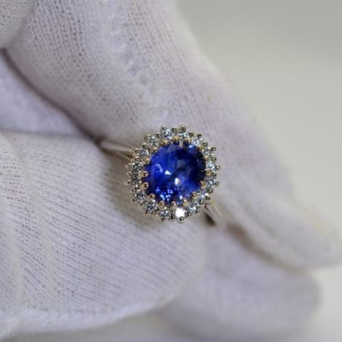 Princess Dianna engagement ring