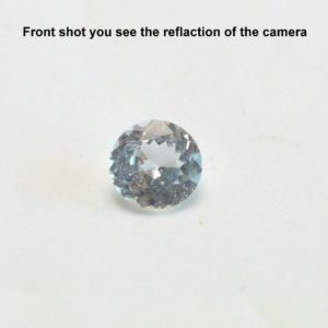 White-Sapphire-Meaning-Ring front view