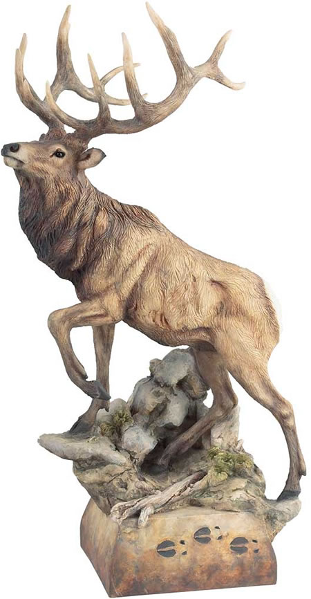 Global Views Home Decor Hoofin' It Elk Sculpture, Mill-creek-studios-all-products
