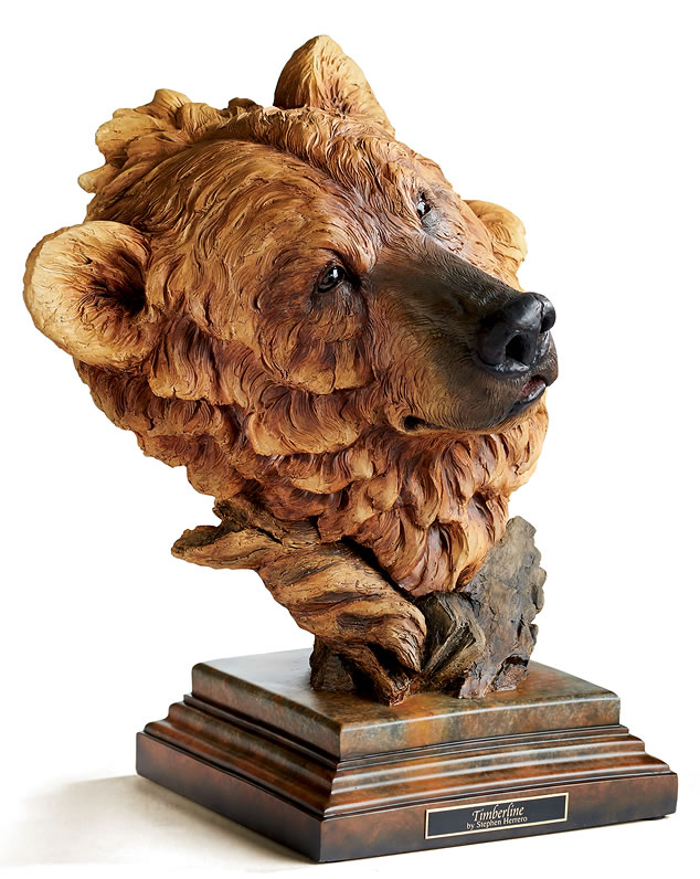 Global Views Home Decor Timberline Brown Bear Sculpture, Mill-creek-studios-all