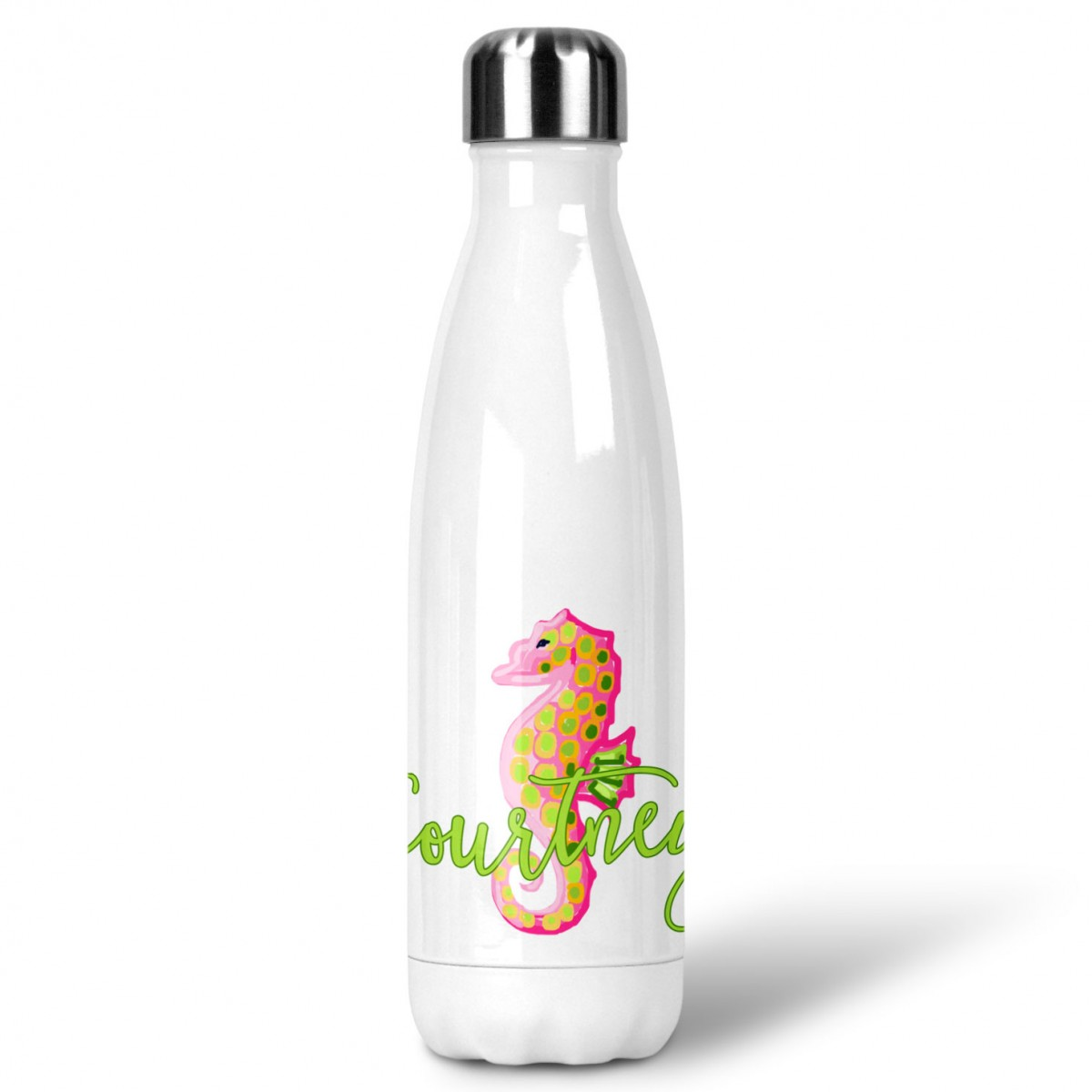 seahorse custom personalized water