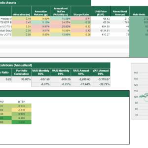 Simplified Portfolio Tracker Lite