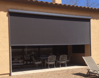 Retractable Patio Drop Screens  All Seasons Retractables
