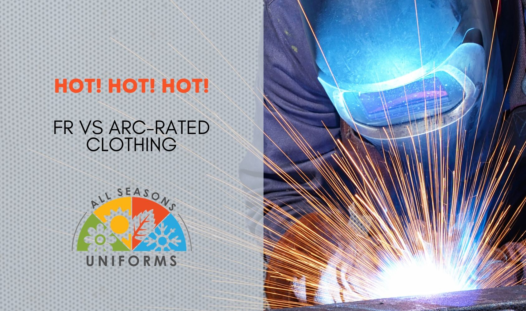 HOT! HOT! HOT! – FR vs Arc-Rated Clothing