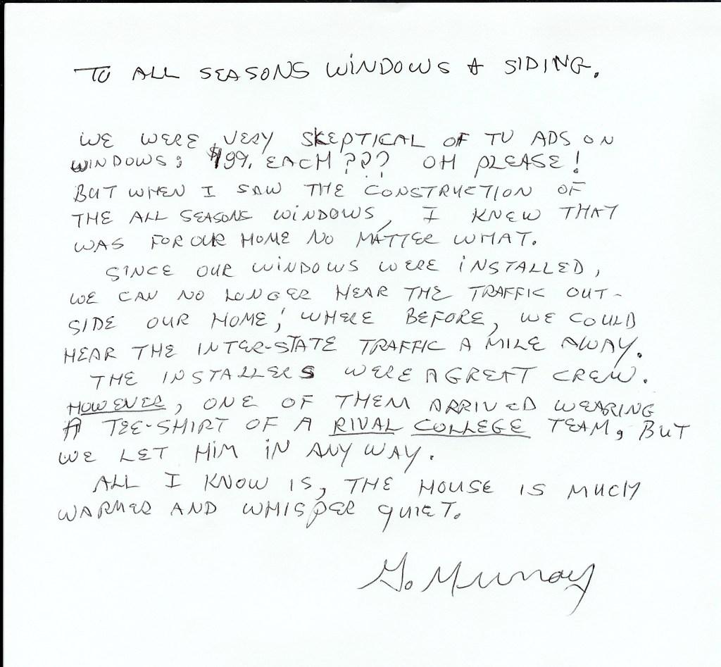Murray Ref. Letter