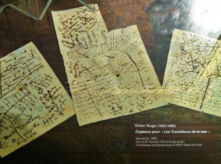 Manuscript scribblings