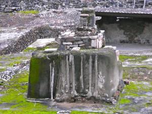 Sacrificial altar at Templo Mayor