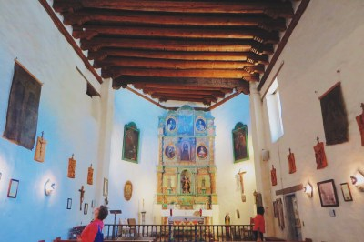 San Miguel interior