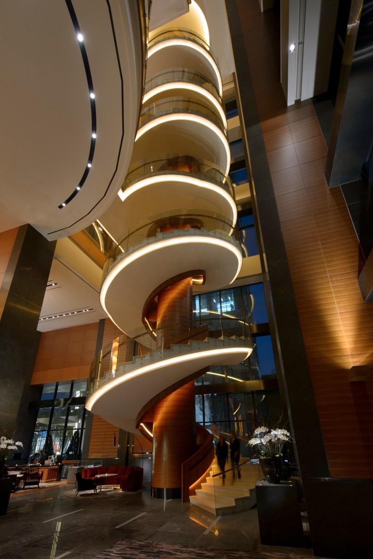 Conrad Seoul_Spiral Staircase