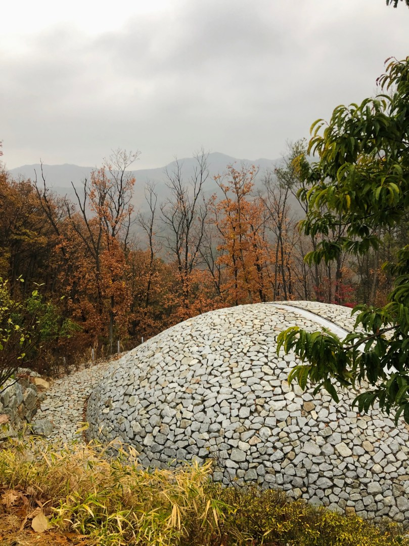 meditation dome at Museum SAN