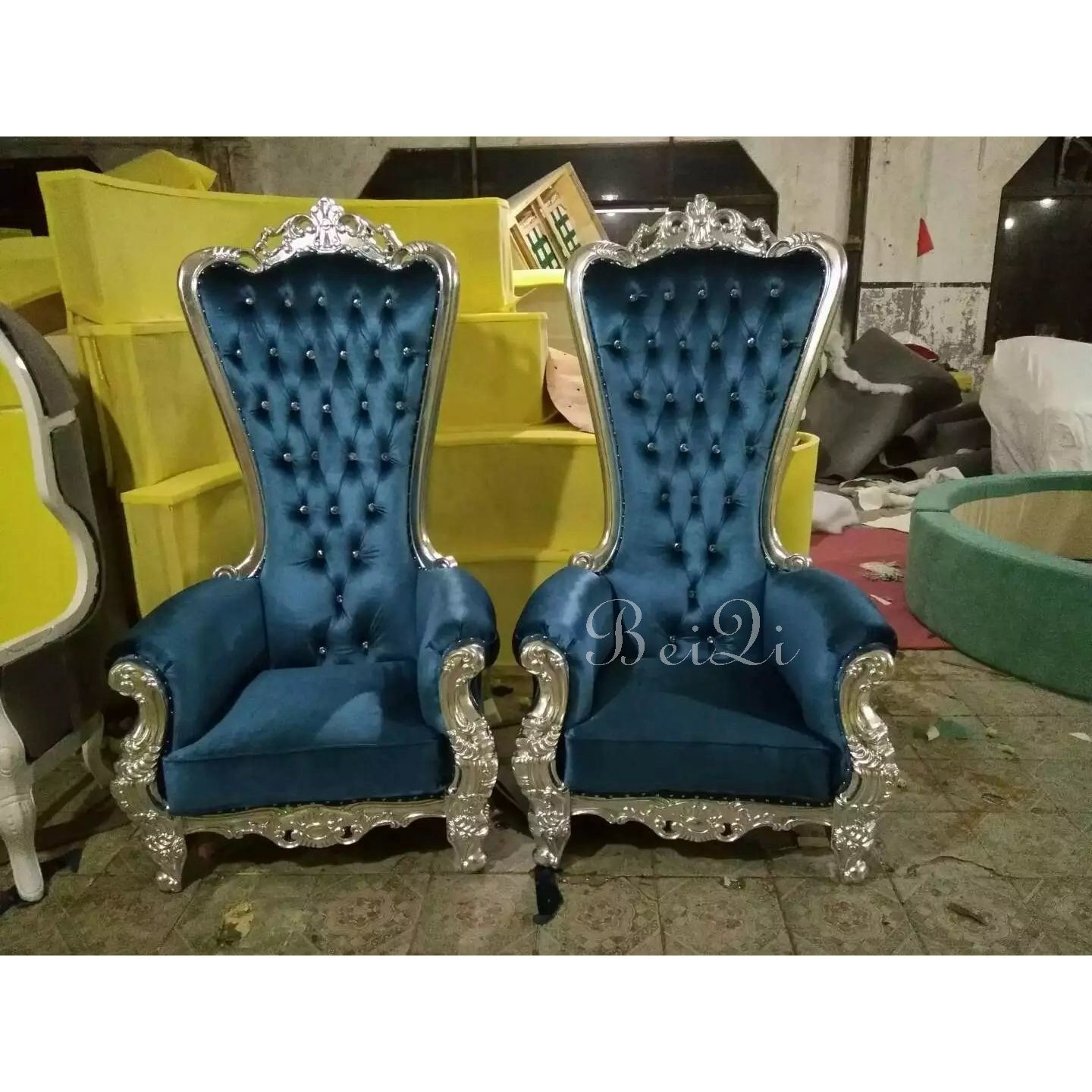 European Touch Pedicure Chair Beiqi Luxury High Back Pedicure Chairs Used Nail Salon Equipment