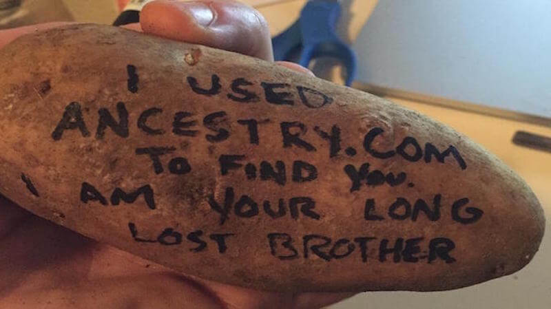 Potato Parcel Handwritten Potato Messages Shark Tank