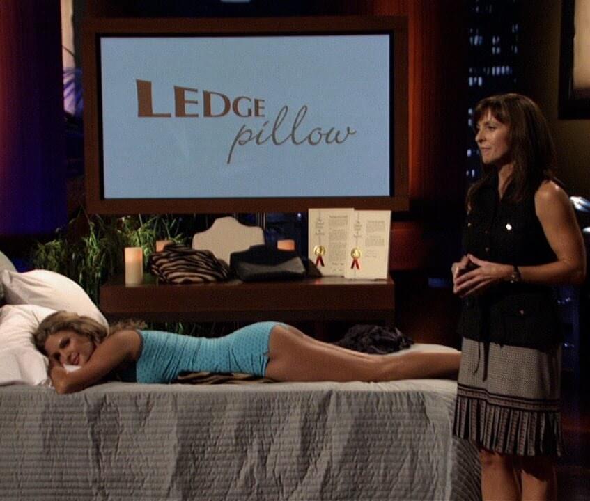 ledge pillow shark tank products