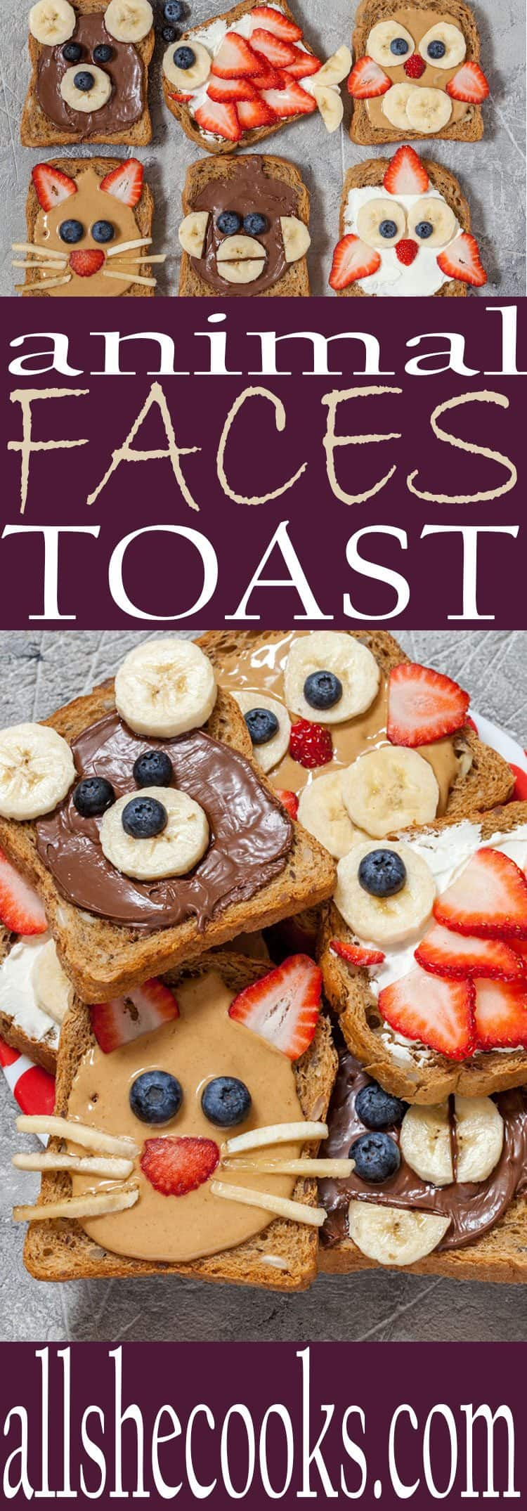 Making meals enjoyable for children is straightforward with these animal faces toast tips.
