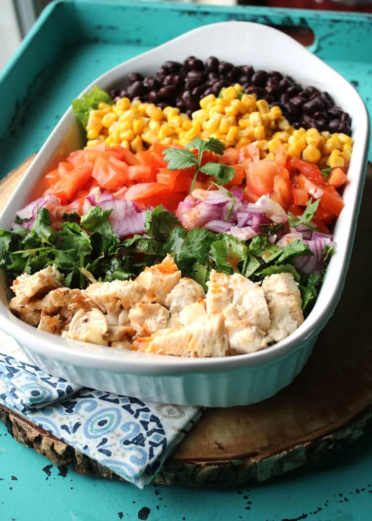 Chopped Chicken Chipotle Salad - a Healthy Dinner Recipe ...