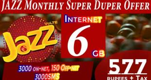 JAZZ MONTHLY SUPER DUPER PLUS