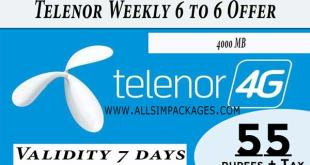Weekly 6 to 6 Offer