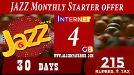 JAZZ Monthly Starter OFFER