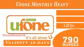 UFONE MONTHLY HEAVY