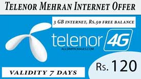 telenor mehran internet offer