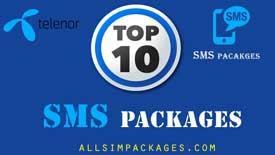 top 10 telenor sms packages