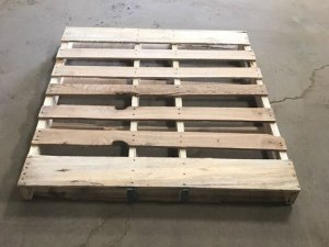 "48"" x 45"" automotive wood pallet for sale"
