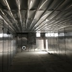 inside All Size Pallet's wood heat treatment kiln