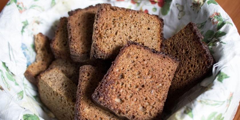 Полезны ли сухари из белого хлеба