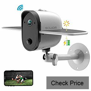 SOLIOM Outdoor Solar-Powered Security Camera review