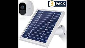 iTODOS 3 Pack Solar Panel