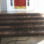 Brick Steps Need Cleaning