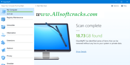 CleanMyPC 1.10.8.2063 Crack Plus Activation Code 2021 [Latest]