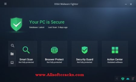 IObit Malware Fighter Pro 7.7.0.5874 Serial Key With Crack 2020