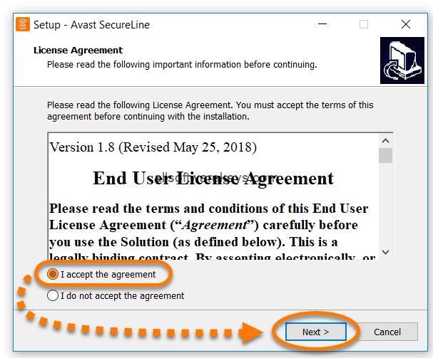 avast secureline license key ios