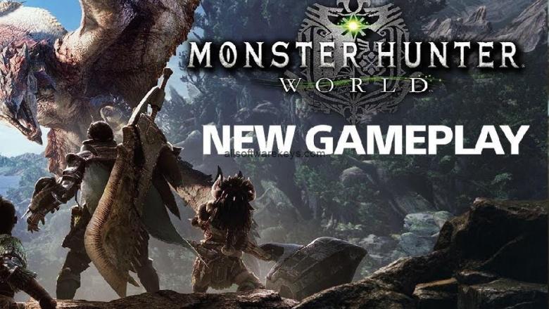 Monster Hunter World Download Crack Full Version + Serial Key