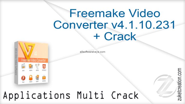 Freemake Video Converter Crack Version 4.1.10 + Gold Serial Key 2020