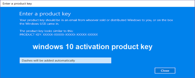 Windows 10 Activator With Product Key Free Full Download