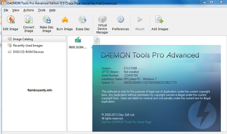 DAEMON Tools Pro 2020 Crack With Full Serial Code