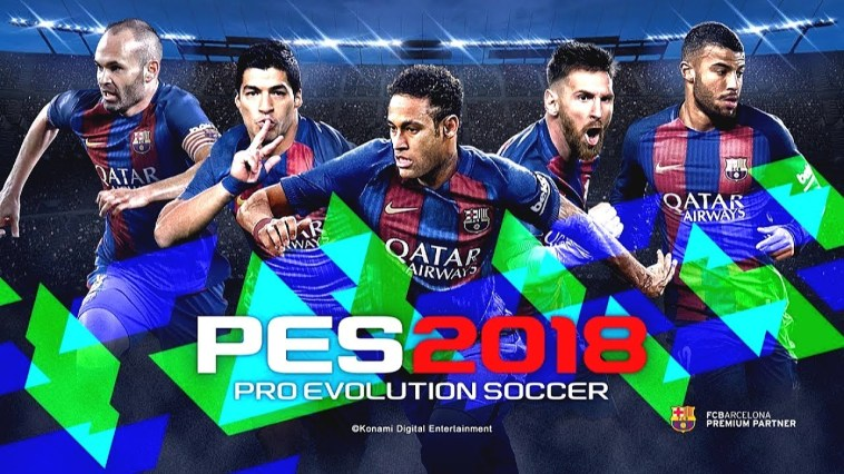 Patch PES 2018 + Crack With Torrent Version