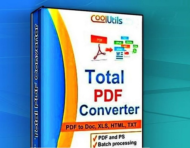 Coolutils Total PDF Converter 6.1.0.194 Crack With Key Free Download 2021