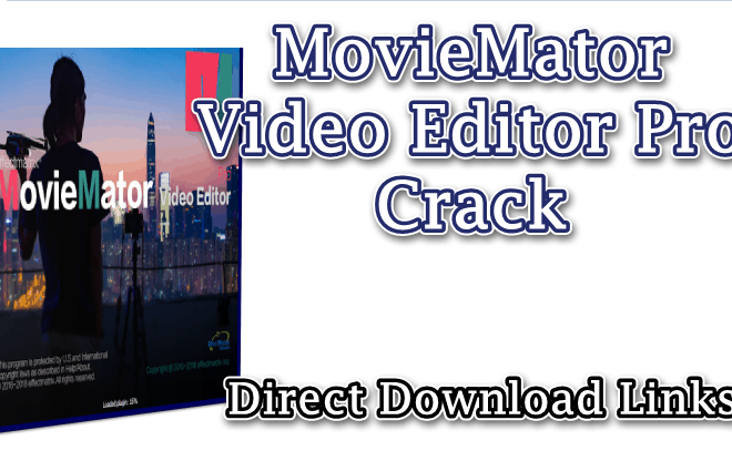 MovieMator Video Editor Pro 3.3.0 Crack With Serial Key Download 2021