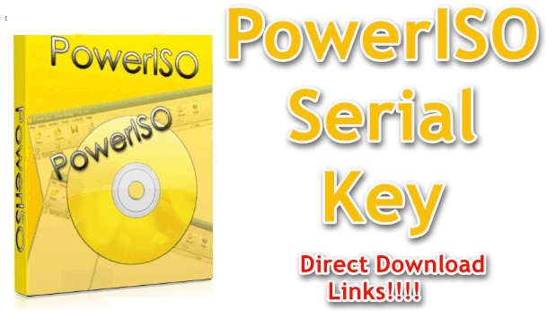 PowerISO 7.9 Crack With Serial Key Free Download 2021