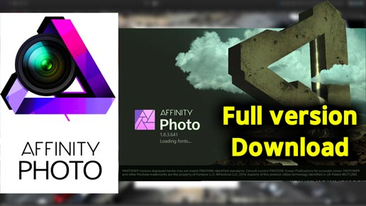 Affinity Photo 1.10.0.1104 Crack with Serial Key Download 2021