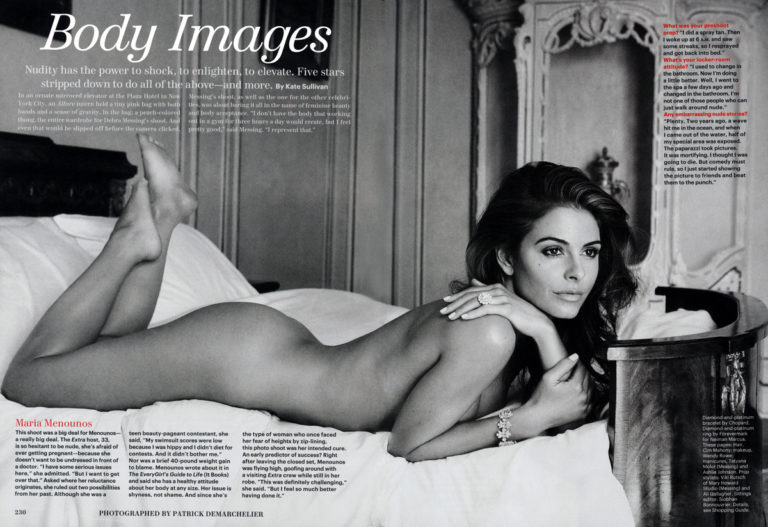 Maria Menounos Nude